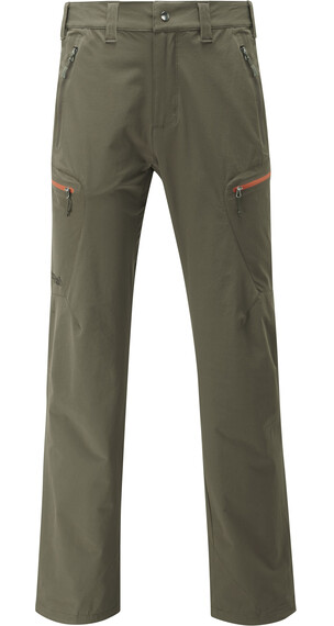 Rab Sawtooth Pantaloni lunghi Uomo verde oliva